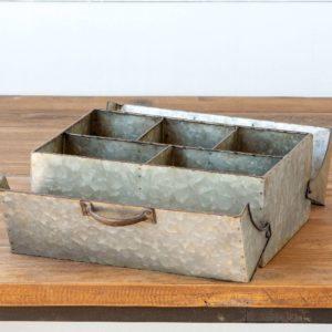 Galvanized Metal Keepsake Box Min 4