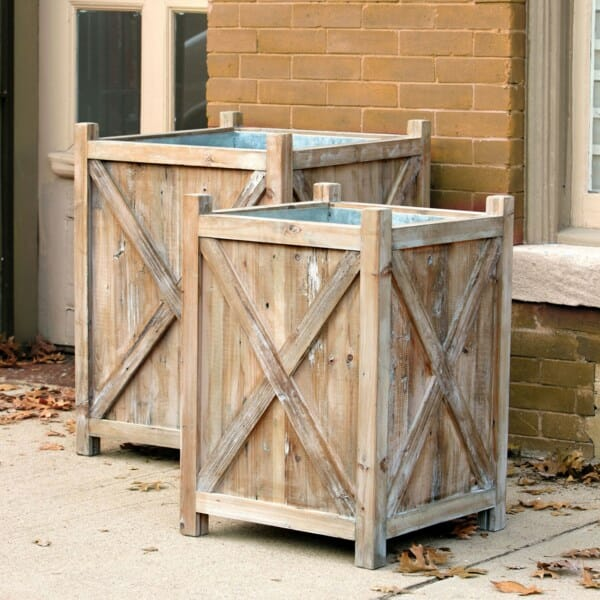 Orchard Planters, Set of 2