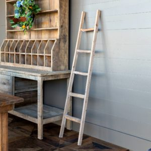 Primitive Wooden Display Ladder    Min 2