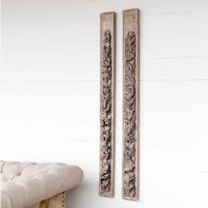 Cathedral Moldings Relics Set of 2