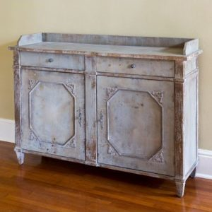 Painted Butler's Cabinet
