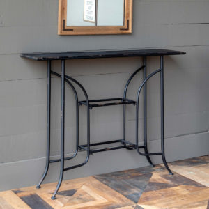 Vintage Style Hotel Lobby Console