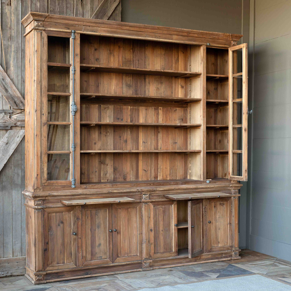 Old Pine Entertainment Cabinet