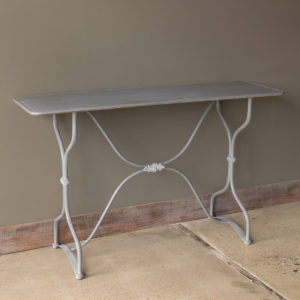 Painted Sewing Console Table