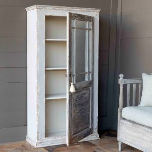 Stairwell Mirrored Cabinet