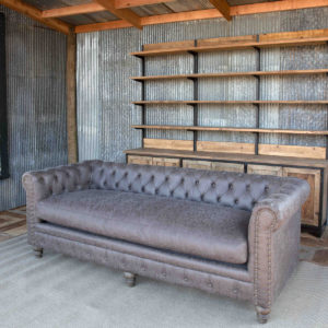 Mule Muzzle Chesterfield Sofa