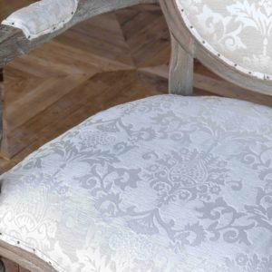 Tuscan Velvet Arm Chair