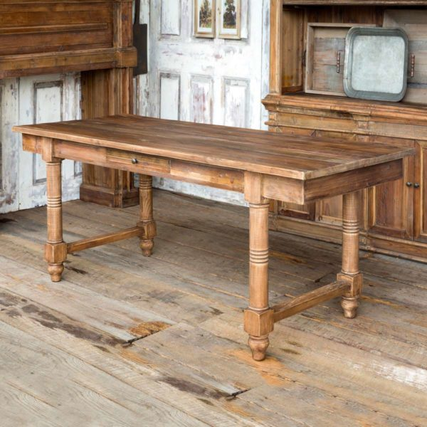 Farm Table With Drawers