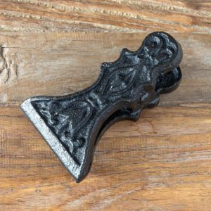 Cast Iron  Wall Note Clip, Large Min 8