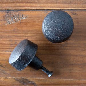 Large Cast Iron Button Knob Min 24