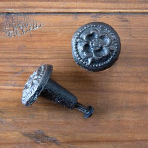 Embossed cast Iron Knob Min 12