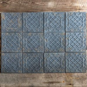 Antique Black Tin Ceiling Tile     Min 16