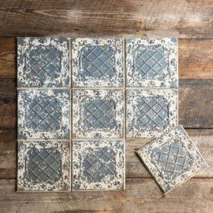 Antique White Tin Ceiling Tile     Min 16
