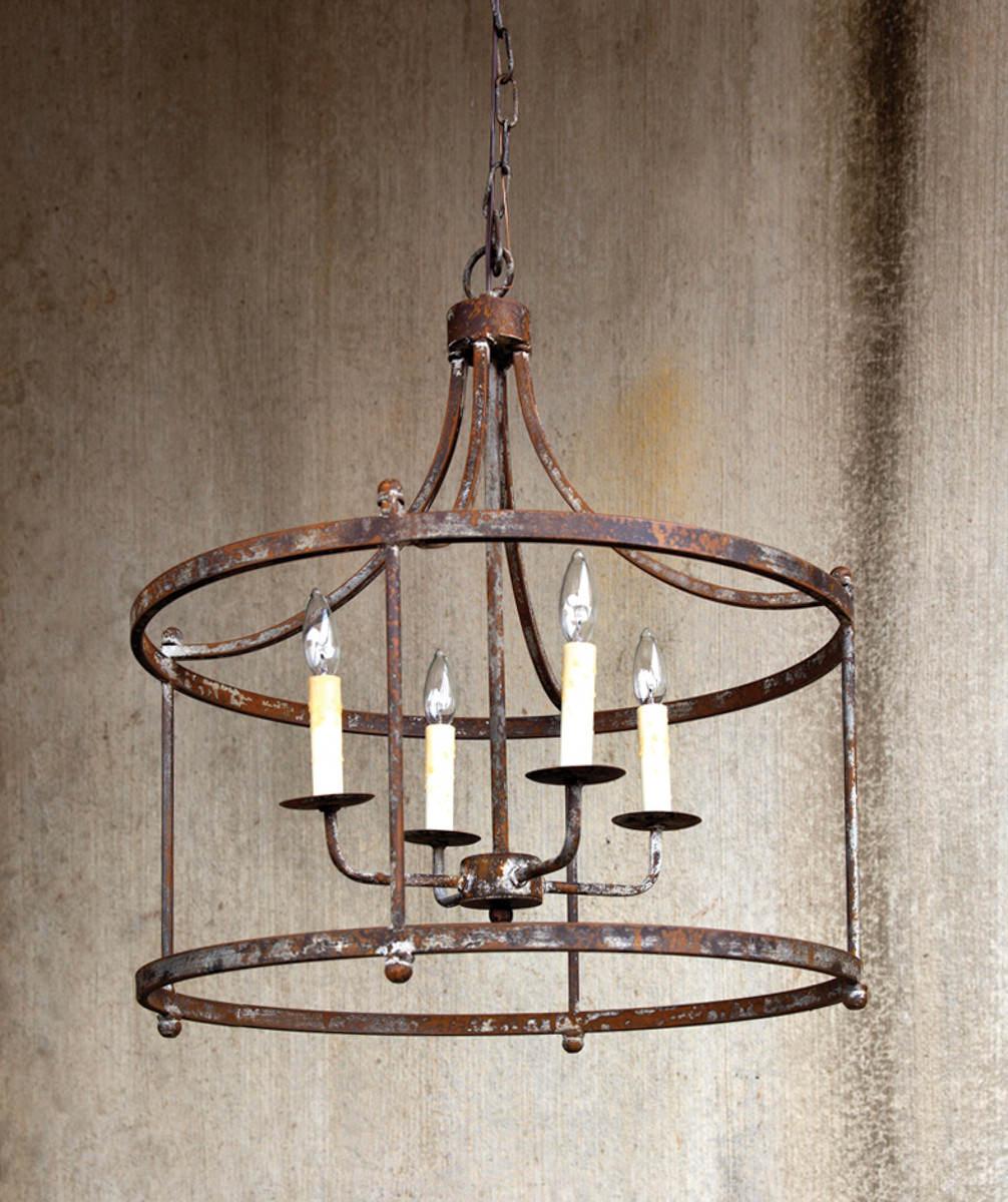Savannah Large Iron Pendant