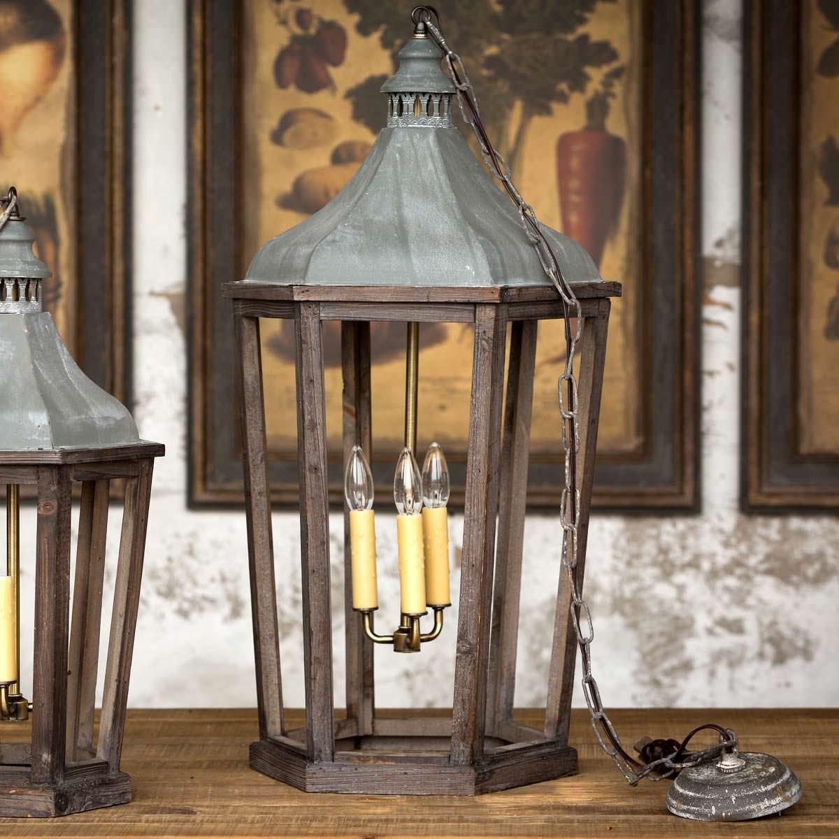 Large Lantern Pendant Light