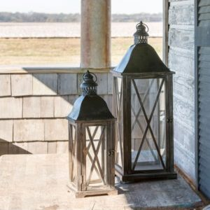 Country Club Lantern Set of 2