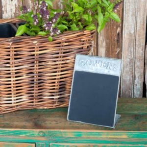 Free Standing Flower Blackboard    Min 6