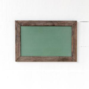 Horizontal Hanging Chalkboard, Green, Small Min 6