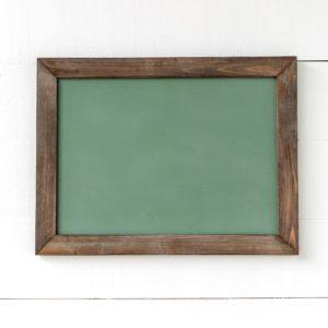 Horizontal Hanging Chalkboard, Green, Medium Min 2