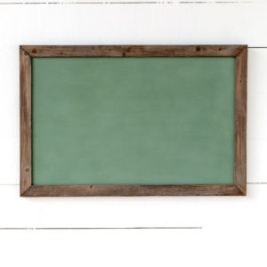 Horizontal Hanging Chalkboard, Green, Large Min 2