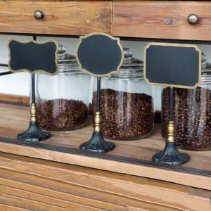 Bakery Blackboard Display Signs Set of 3