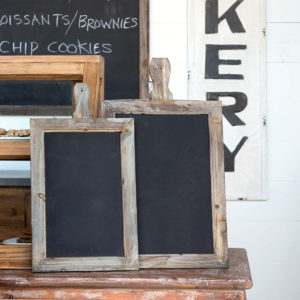 Blackboard Message Boards Set of 2