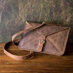 Tablet Tote In Buffalo Finish