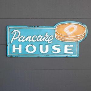 Metal Pancake House Sign