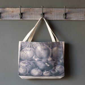 Newsprint Seed Catalog Shopping Bags Min 4