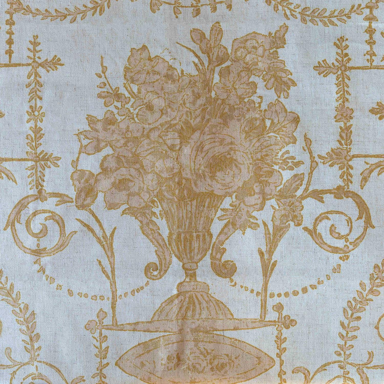 Yellow French Quarter Fabric