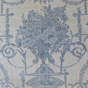 Blue French Quarter Fabric