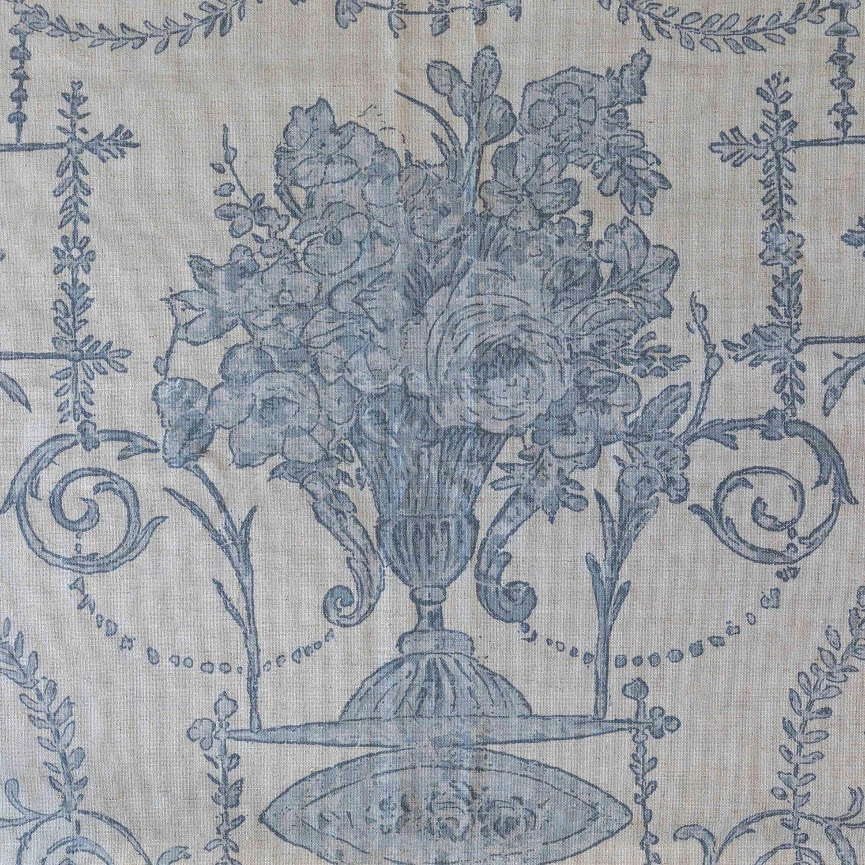 Blue French Quarter Fabric