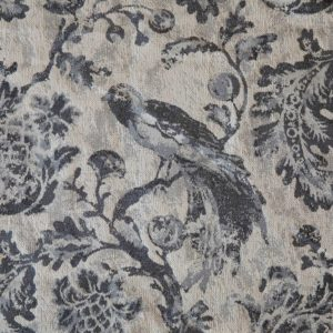 Grey Bird Toile Fabric