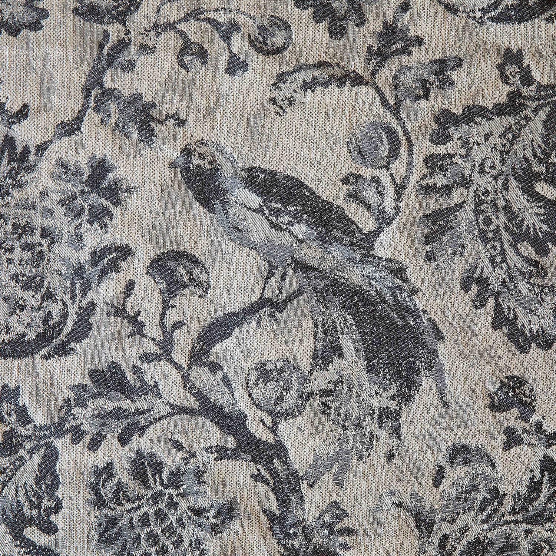 Grey Bird Toile Fabric