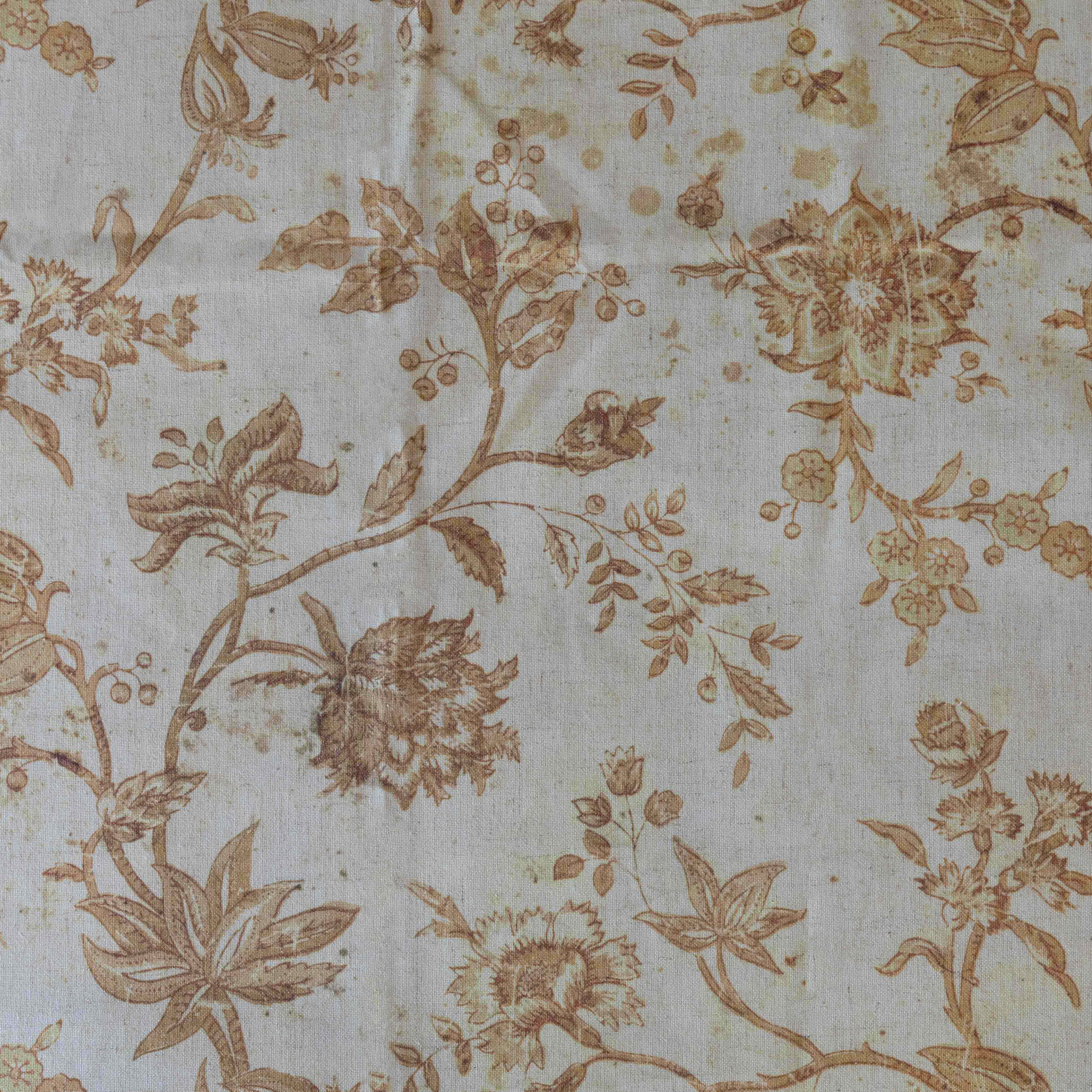 Chinoiserie Floral Fabric
