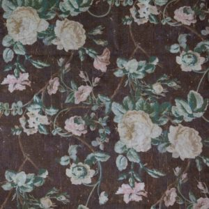 Vintage Rose Print Fabric