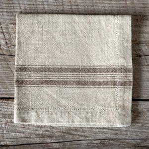 Cloth Napkin, Ivory Min 6