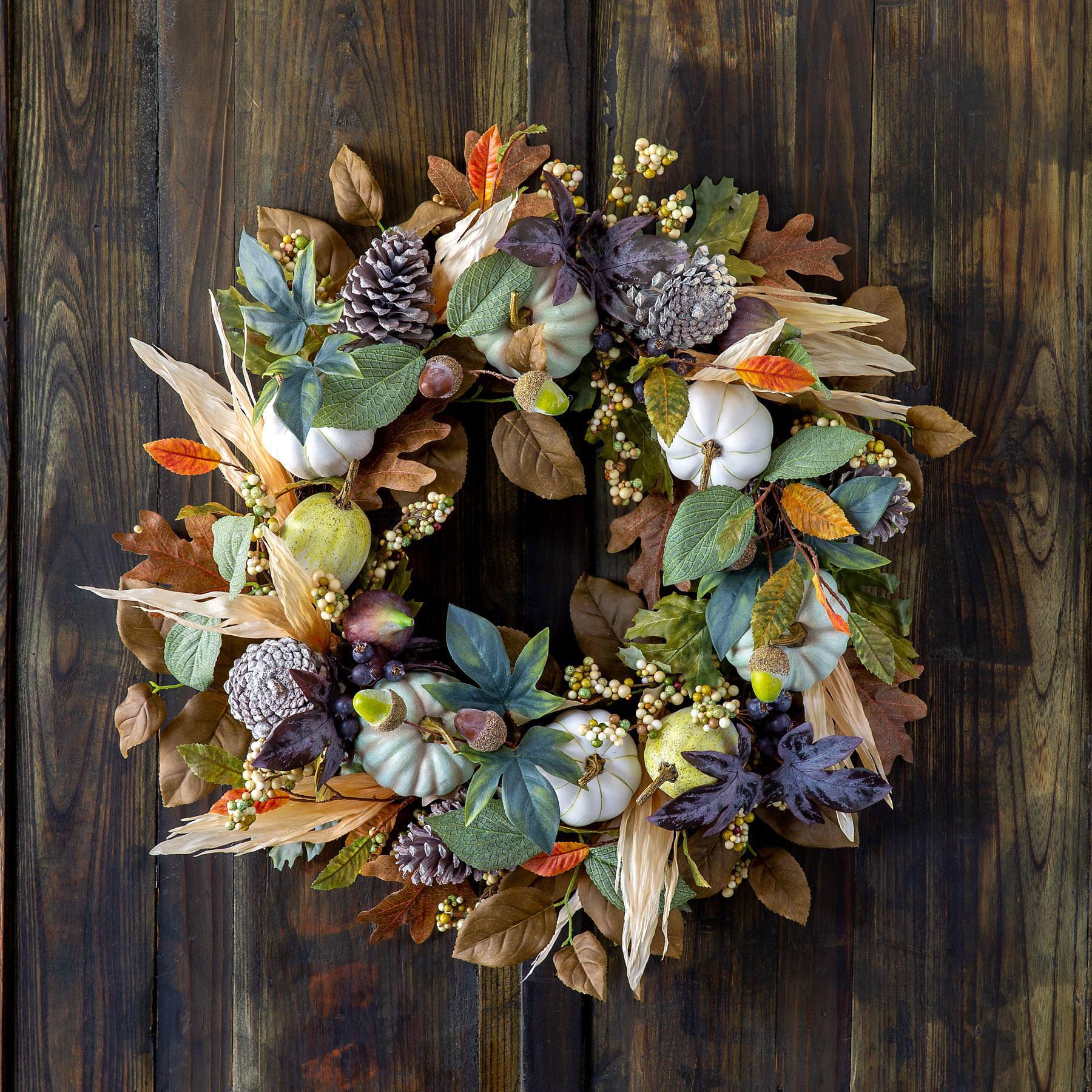Hudson Valley Harvest Wreath Min 2