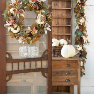 "Autumn Moonlight 24"" Wreath Min 2"