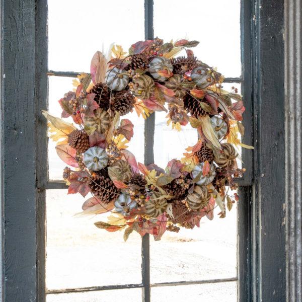 Farmhouse Autumn Wreath