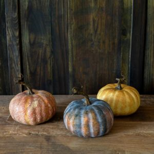 Autumn Garden Pumpkins