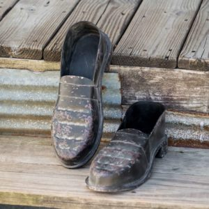 Metal School House Loafers