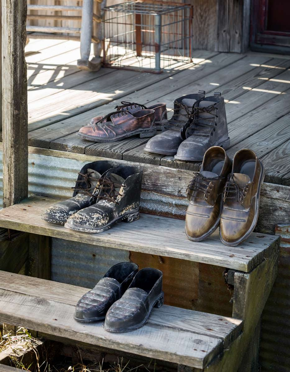 Metal School House Loafers