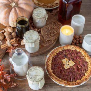 Pumpkin Bourbon Natural Crockery Candle