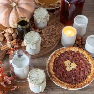 Home Made Molasses Natural Crockery Candle