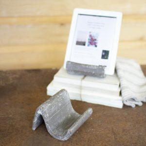 Grey Wash Clay Ipad Holder - (Includes 2)