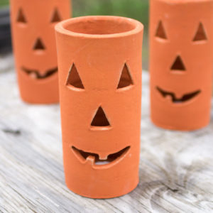 Clay Jack-O-Lantern - (Includes 6 Boxes with 6 items in each Box)