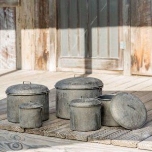 Cellar Storage Pots Set of 5