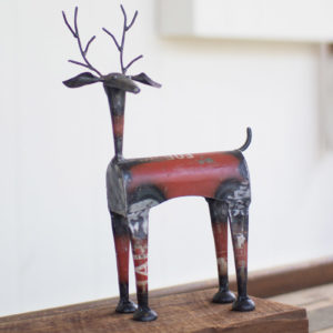 Recycled Metal Red Deer