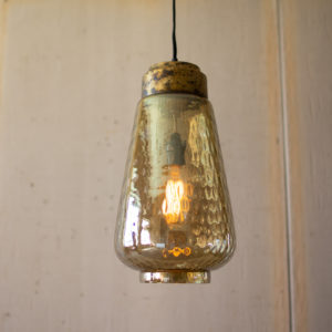 Smoke Luster Glass Pendant Light